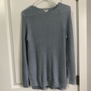 GARAGE KNIT LIGHT BLUE SWEATER - SIZE SMALL